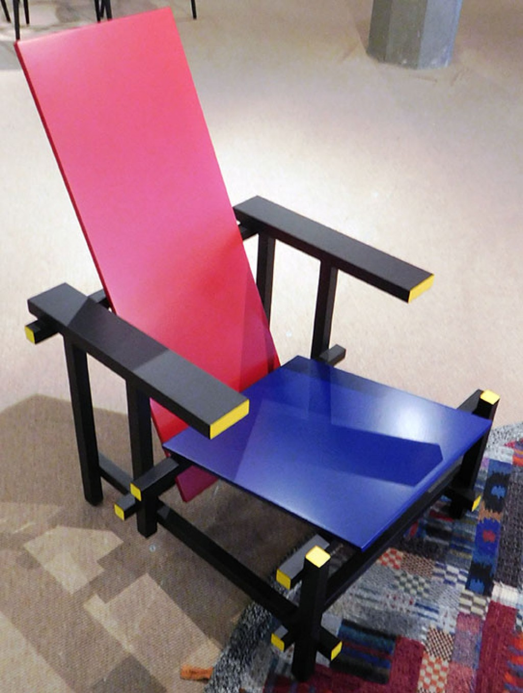 Sedia Red And Blue.Sedia Red And Blue Cassina Red And Blue